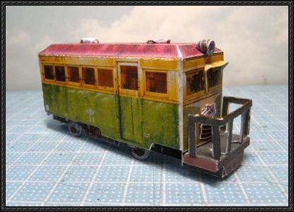 Japanese Single-Ended Train Paper Model Free Download - http://www.papercraftsquare.com/japanese-single-ended-train-paper-model-free-download.html