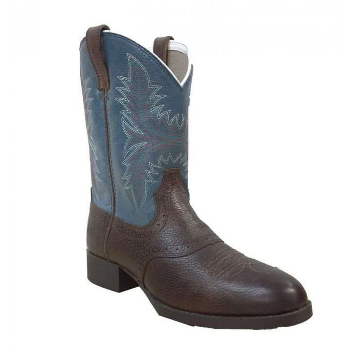 Ariat Heritage Hackmore  This timeless western boot with classic detailing will make any young cowboy happy.  $149.95