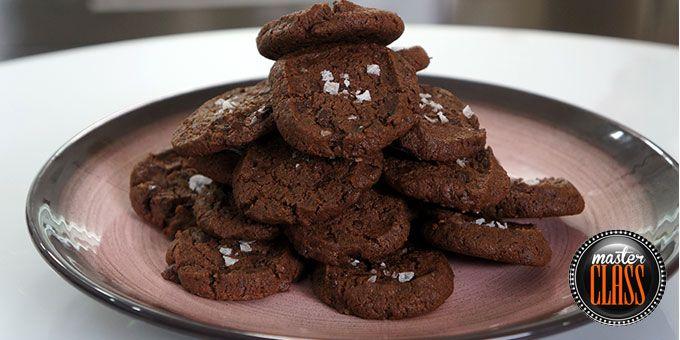 Αφράτα σοκολατένια μπισκότα
