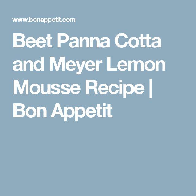 ... about Lemon Mousse on Pinterest | Mousse, Lemon and Lemon Mousse Cake