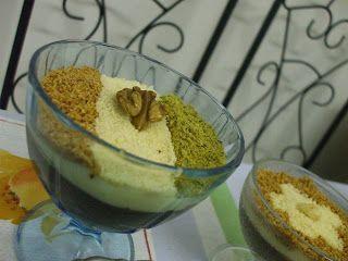 crimetcondiment: Assidat zgougou (=crème tunisienne au pignon de pin d'Alep) et quelques trucs inavouables...