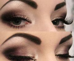 wooowPretty Eye, Eye Makeup, Dark Eye, Eye Shadows, Dramatic Eye, Brown Eye, Eyemakeup, Eyeshadows, Smokey Eye