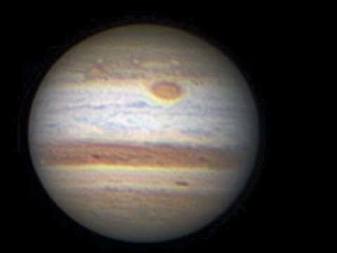 Some of my videos of Mars, Saturn and Jupiter through my telescope, and the images that I process from them. If you want to see one of the worlds best planetary imagers in action, look for Damian Peach on YouTube (http://www.youtube.com/user/planetimager/videos?flow=grid=0) or elsewhere on the web! His images are legendary!