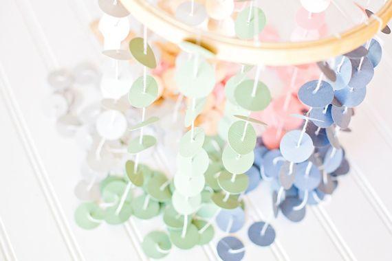 DIY confetti hanging: Mobiles Ideas, Confetti Dots, Crafts Ideas, Confetti Mobiles, Crafts Projects, Diy Chand, Diy Confetti, Diy Projects, Confetti Chand