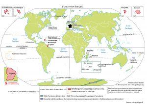 L'Outre-Mer français : planisphère