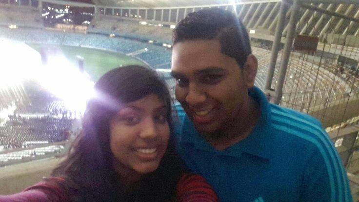 #StadiumSelfies #PerfectNight #NobodyInTheWorld