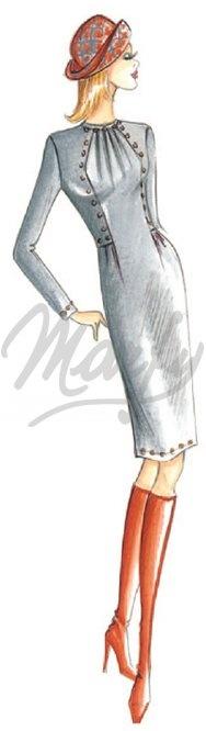 Marfy crewneck dress pattern 2909 €13