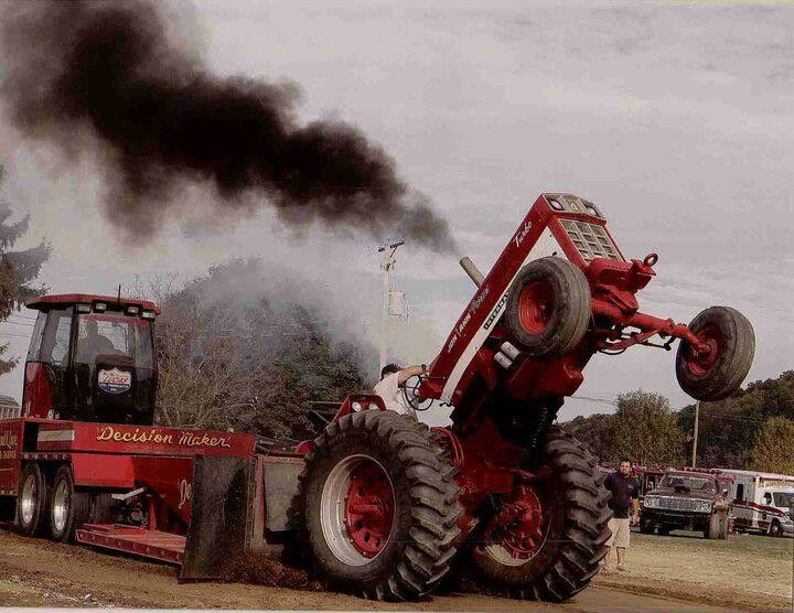 Garden Tractor Pulling Crashes : Best images about tractor pulls on pinterest