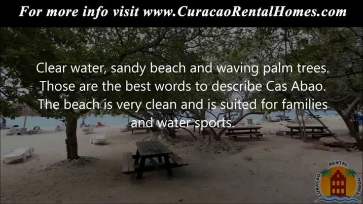 CuracaoRentalHomes presents five beaches of Curacao