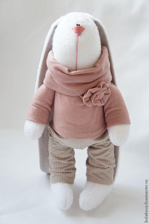Toy animals, handmade.  Fair Masters - handmade Zaya with a brooch.  Handmade.