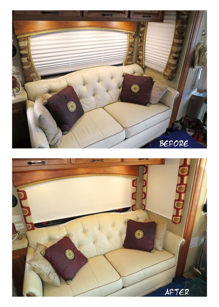 How to redo RV valance