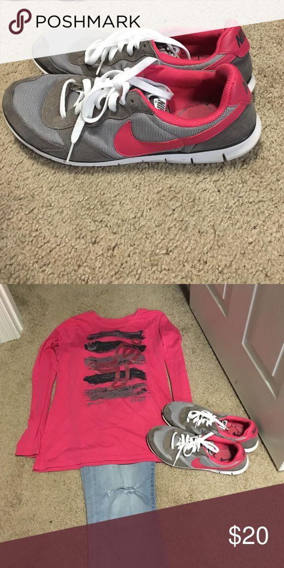 new york be85f a42f8 ... Women Nylon Shoes Green Pink Brown, Price   79.00 - Shox NZ - Nike  Cortez shoes ...