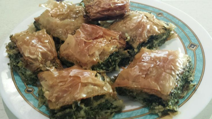 Spinach pie or spanikopita, is one of the most famous authentic Greek pies. This easy authentic spanakopita recipe is delicious either hot or cold.