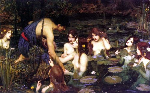 John Watehouse: Hylas and the Nymphs (1896)