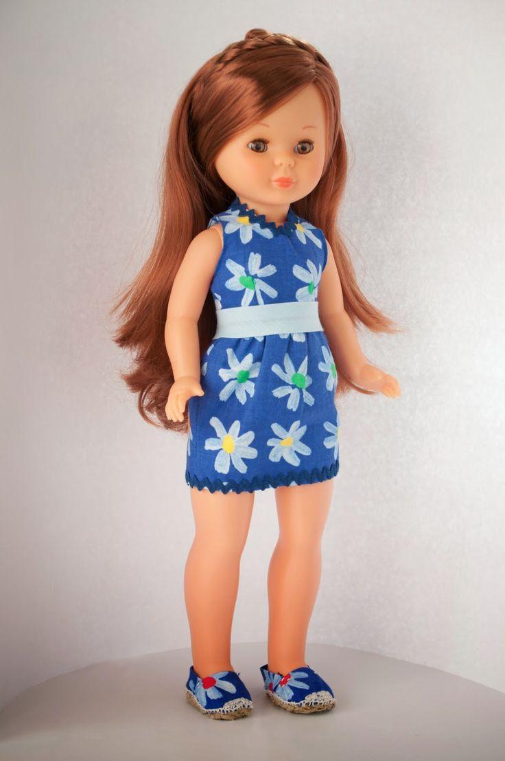 Mi vestido de Nancy primavera azul necesitaba un calzado adecuado y esto es lo que se me ocurrio.                Aqui os explico co...
