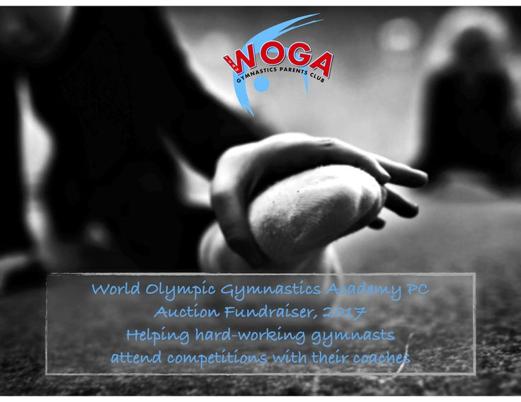 World Olympic Gymnastics Academy PC 2017 FALL FUNDRAISER #auctions