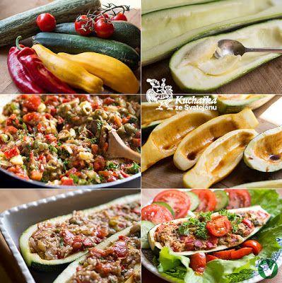 Kuchařka ze Svatojánu: PLNĚNÉ CUKETY