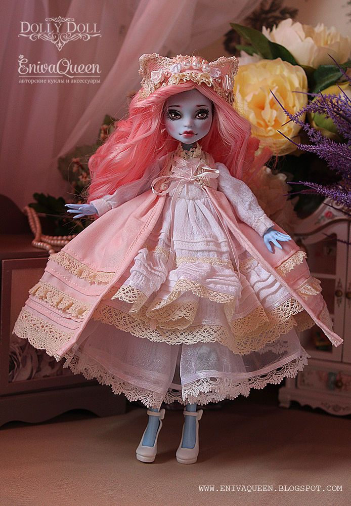 Monster High Abbey OOAK custom doll by Eniva Queen