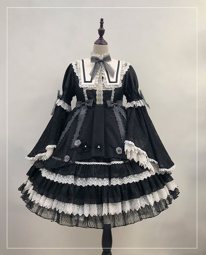 Angel's Hear -The Mysterious Music In The Night- Gothic Lolita OP Dress