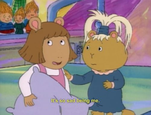 "Her life was a struggle, but she somehow managed to maintain a positive attitude. | 20 Reasons D.W. Was The True HBIC Of ""Arthur"""