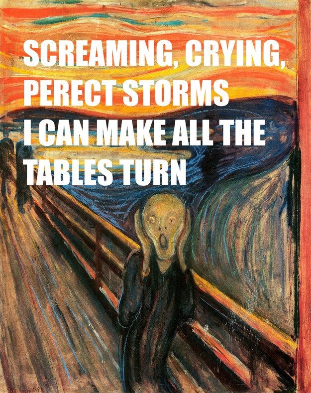 """The Scream"" by Edvard Munch 