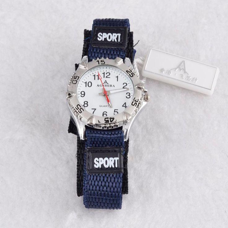 Mannen mannelijke horloge masculino relojes Stof sport horloge 4 kleuren out deur horloge quartz analoog populaire klok hot koop relojes in               een goede keuze voor cadeau of decoratie.  Super uitstekende vintage ontwerp.  het is mode, vintage, van quartz horloges op AliExpress.com | Alibaba Groep