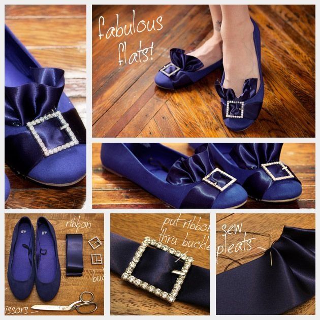 Puritain Ballerina Flats DIY Feature (which you can try with high heel shoes as well!!)