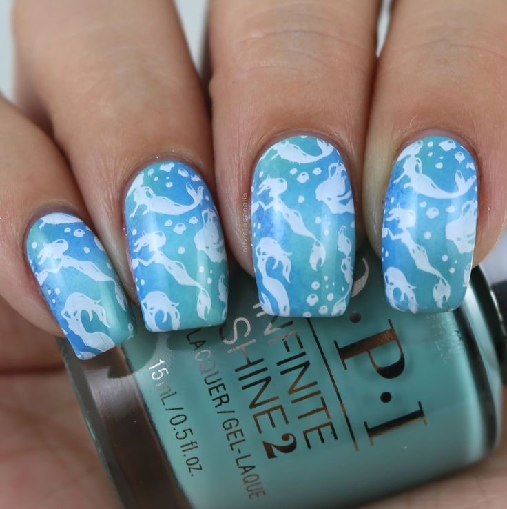 The Digit-al Dozen Does Mythical Creatures - Day Three by Olivia Jade Nails