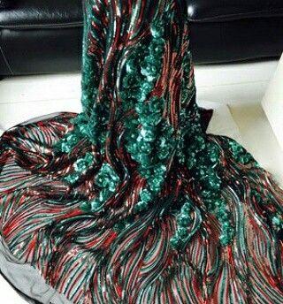 Sequined couture fabric.  Enquires -  fabricsutra@gmail.com