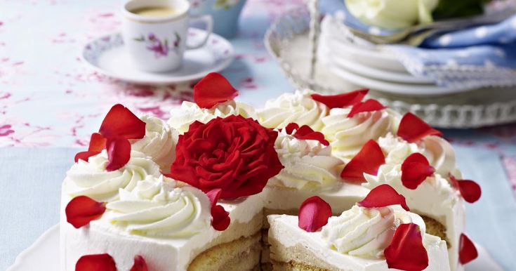 Rose Celebration Cake Recipe