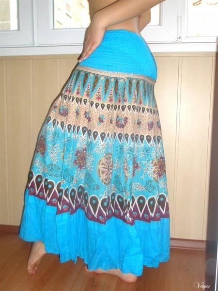 Пляжная юбка сшить самой