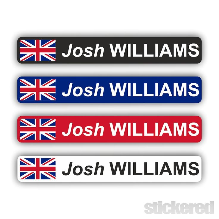 6 x PERSONALISED UK FLAG BIKE BICYCLE NAME STICKERS CYCLE MOUNTAIN BMX RACING | Sporting Goods, Cycling, Bike Accessories | eBay!