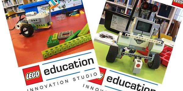 Ateliers LEGO WeDo 2.0 et Mindstorms à la Cité des Sciences et de l'Industrie: En attendant la commercialisation en août prochain des… #LEGO