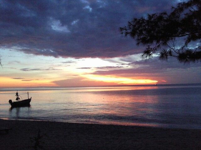 Sunrise at Huahin,Thailand