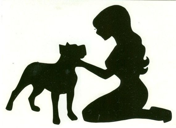Image result for pitbull and girl pumpkin stencil
