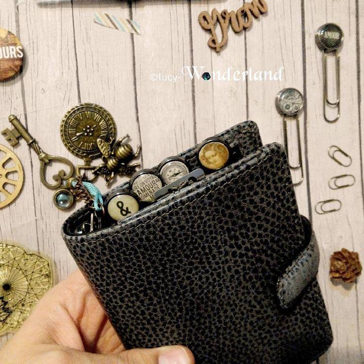 Lucy-Wonderland: setup della filofax malden mini _ la mia agenda portafoglio