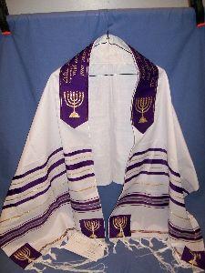 PROPHET ISAIAH TALLIT - ARISE SHINE PRAYER SHAWL - GLORY OF THE LORD PRAYER SHAWLS