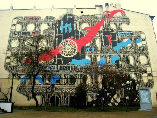 Legionów 19, Łódź, #poland #mural #streetart