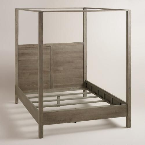 Gray Marlon Queen Canopy Bed - Best 25+ Queen Canopy Bed Ideas On Pinterest Canopy Bed Frame