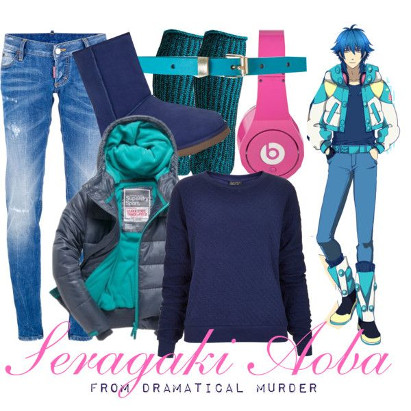 dramatical murder  seragaki aoba  created by animangacouture on polyvore