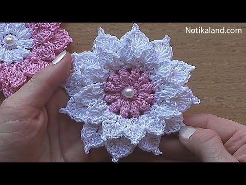 Crochet Flower - Very Easy Tutorial | Crochet For Children | Bloglovin'