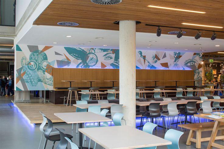 Universum Bremen Kubus Restaurant