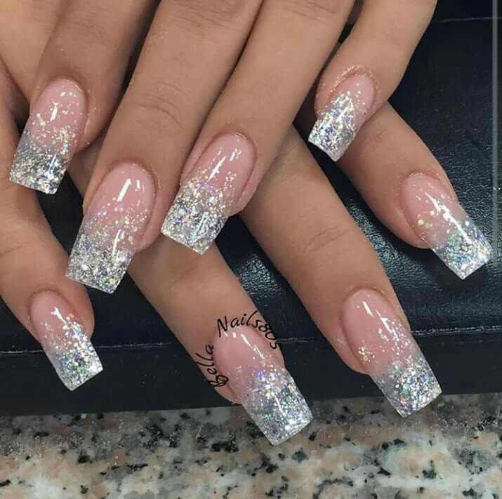 Glitter Ombre | Nails
