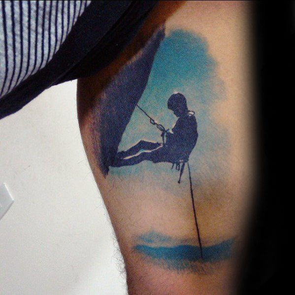 60 Rock Climbing Tattoos For Men Boulderinn Tattoos For Guys Men Henna Tattoo Turtle Tattoo Designs