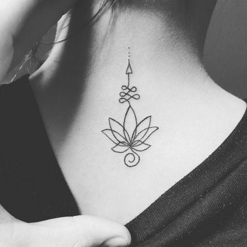 """Résultat de recherche d'images pour """"unalome arrow tattoo"""""""