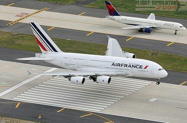 Air France A380..