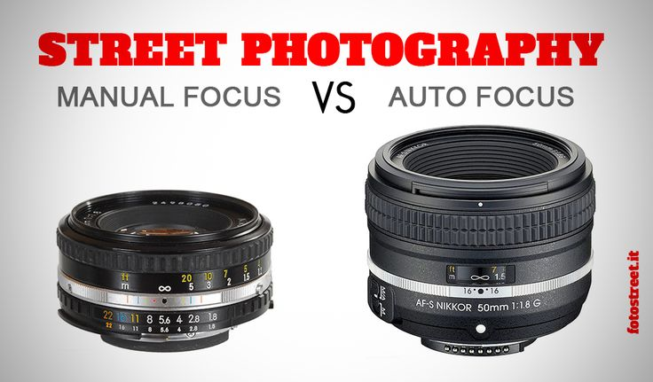 Manual focus vs Autofocus nella fotografia di strada