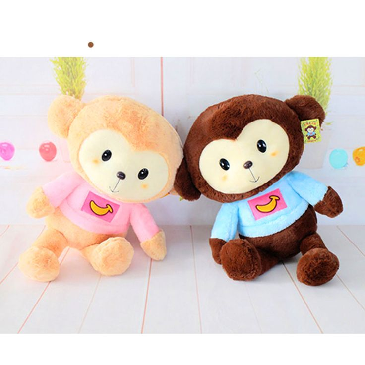 ==> [Free Shipping] Buy Best 45CM Kawaii Cartoon Monkey Dolls High Quality Soft Plush Toys Stuffed Animals Monkeys Toy for Children Kids Girls Gifts Presents Online with LOWEST Price | 32725670479