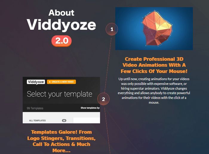 VIDDYOZE COMMERCIAL BY VIDDYOZE – NUMBER ONE CLOUD-BASED ANIMATION MAKER IN THE WORLD. EASY TO CREATE HIGH QUALITY ANIMATION SAME AS PROFESSIONAL STUDIO IN 3 SIMPLE STEPS.