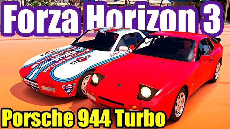 Porsche 944 Turbo   Forza Horizon 3 Gameplay